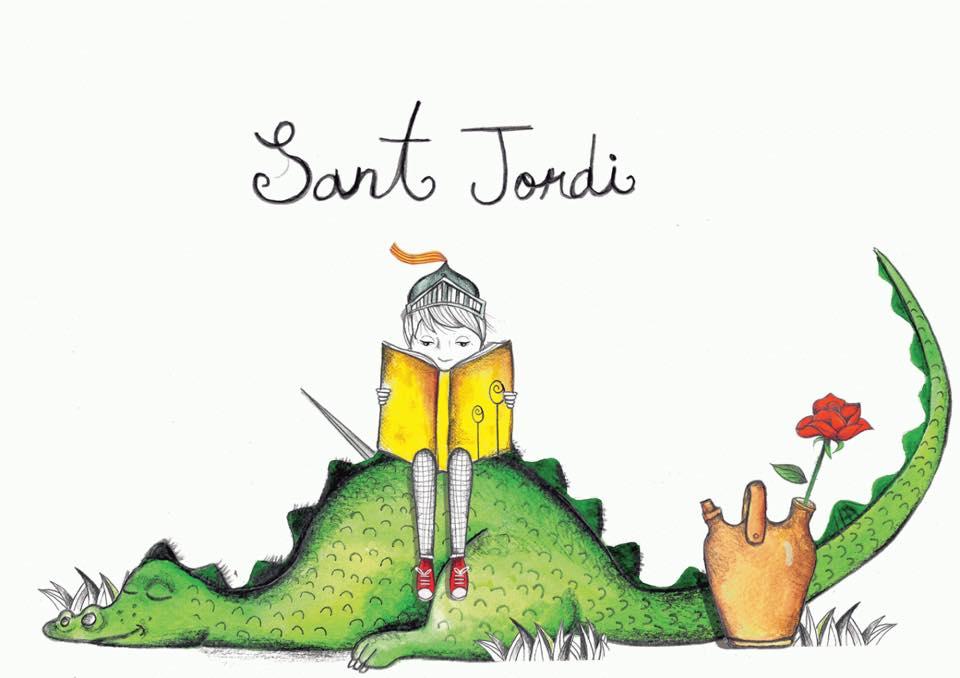 Saint Jordi (Georges), Fête du Livre et de la Rose