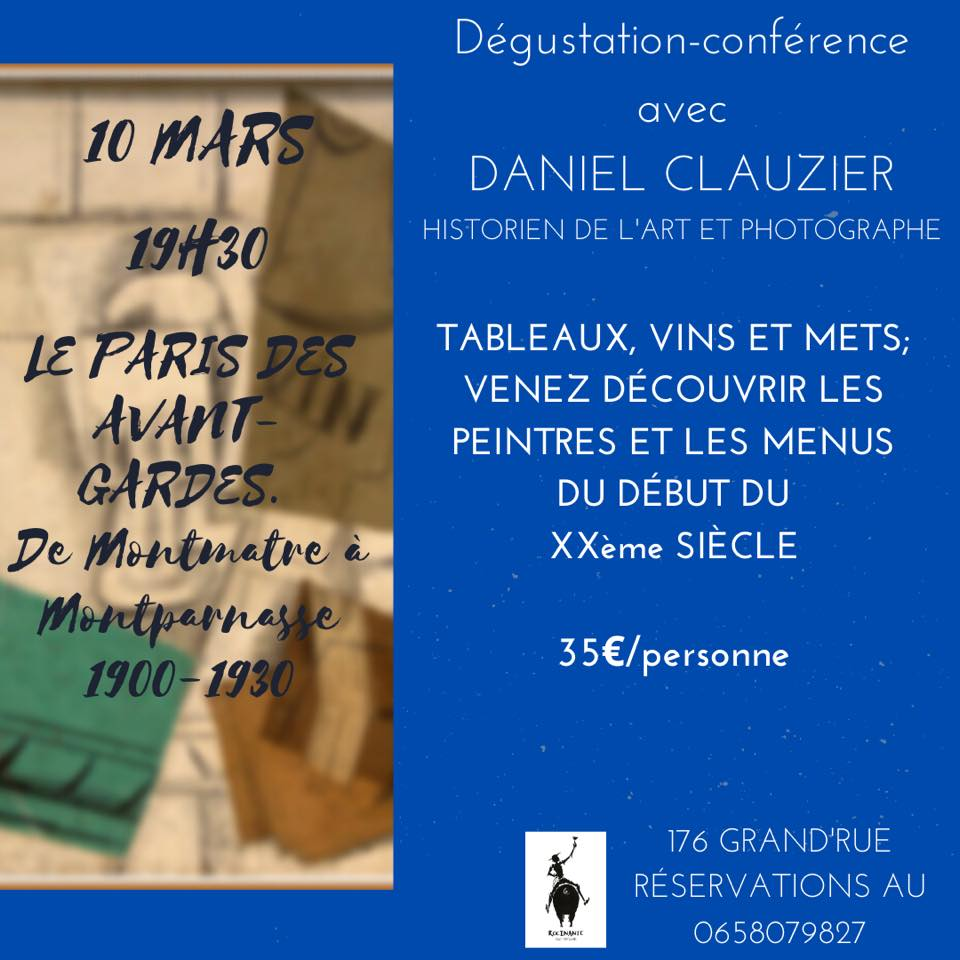 Atelier dégustation – 10 mars 2020
